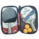 MAKG Juego de tenis de mesa, palo, raqueta de entrenamiento de tenis de mesa, apto para principiantes a practicar, enseñar