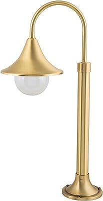 Lampadaire de jardin à économie d'énergie VOLOS en laiton et verre Maritim B21 cm H 65 cm 2C4A4C94C4, cuivré, 1-flmg, E27 230.00volts