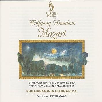 Mozart: Symphony No. 40, K. 550 & No. 41, K. 551