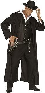 shoperama Bounty Killer Costume de Cowboy pour Homme avec Gilet Noir