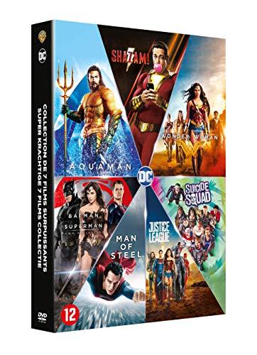 Coffret dc comics 7 films