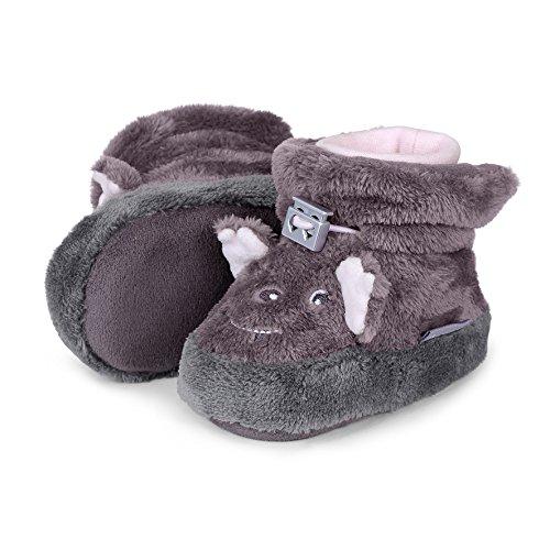 Sterntaler Chaussures de Naissance bébé Fille - Violet - Violett (Aubergine 607),