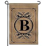 Anley Classic Monogram Letter B Garden Flag,...