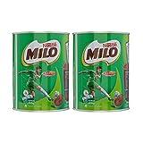 Nestle Milo Activ-Go Chocolate Malt Powder Drink Mix (2 Pack, Total of 28.2oz)