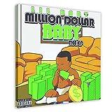 Lil Babyalbum Million Dollar Baby Leinwand Poster