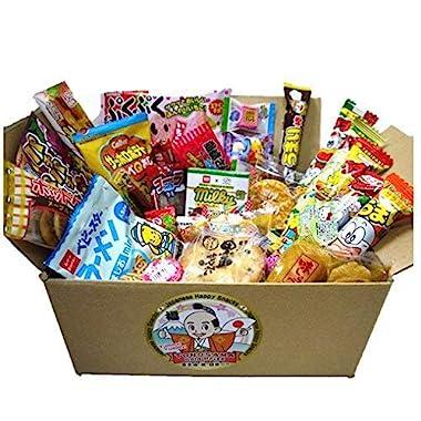 Japanese candy assortment 30pcs , full of dagashi.  TONOSAMA CANDY