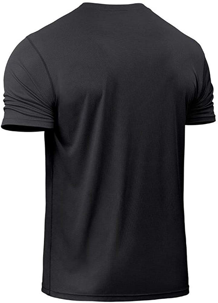 Big and Tall Dry Fit Athletic Shirts for Men Short Sleeve Mens Workout Shirts Moisture Wicking T-Shirt