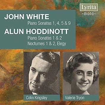 White & Hoddinott: Piano Works
