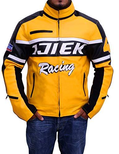 Western Fashions Männer, Frauen Chuck Greene Dead Rising 2 & 3 Design Echtes Leder Cosplay Krieger Multicolor Jacket-l
