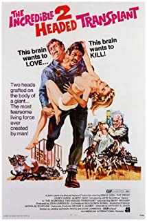 Pop Culture Graphics The Incredible Two-Headed Transplant Poster 27x40 Bruce Dern Pat Priest Casey Kasem