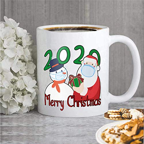 2020 Christmas Cup,Christmas Coffee Cup,Office Ceramic Cup,Spend Special Time with Family and Friends