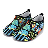 GDSSX 【 Scarpe da Spiaggia per Bambini Spiaggia per Adulti Scarpe da Terra per Interni Scarpe Antiscivolo Calzature per Yoga Scarpe da fioraia per Fiume Scarpe per Bambini 】