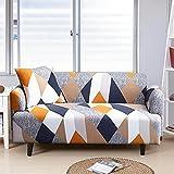 MKQB Funda de sofá telescópica elástica, decoración del hogar, Funda de sofá de combinación de Esquina de Sala de Estar, Antideslizante, Envuelto herméticamente NO.8 L (190-230cm)