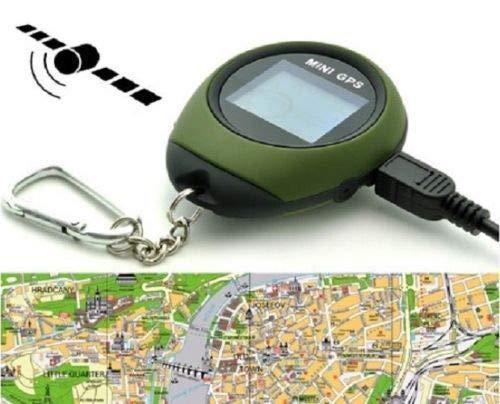 SIMPLISIM: Mini GPS LOCALISATION Traceur Tracker Porte CLES SECURITE Randonnee Ski Sport
