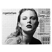 Taylor Swift Taylor テイラー·スウィフトテイラー 大人と子供のための木製ジグソーパズル500ピース、クリエイティブギフトの家の装飾のためのアートワークジグソーパズルおもちゃ