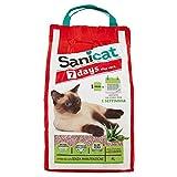 Sanicat Lettiera per Gatti in Aloe Vera, 7 Giorni, 2,7 kg