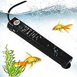 ATPWONZ 25W Submersible Aquarium Heater, Betta Fish Tank Heater, LED Digital Temperature Display Smart Thermostat Mini Betta Fish Heater for 3 to 5 Gallon Betta Tank Heater
