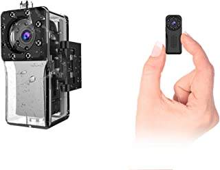 wasserdichte WLAN Mini Kamera,NIYPS Full HD 1080P Kleine Überwachungskamera, Mikro WiFi..