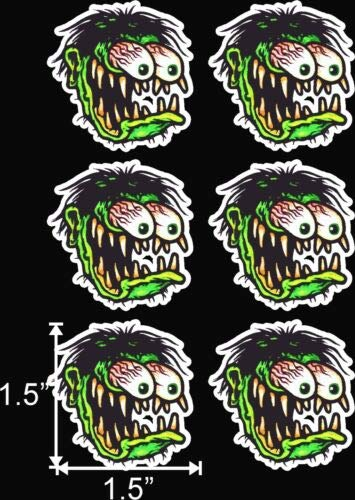 Old School Rat Fink Rat Rod Hot Rods Muscle Car Vintage Performance - Sticker Graphic - Auto, Wall, Laptop, Cell, Truck Sticker for Windows, Cars, Trucks
