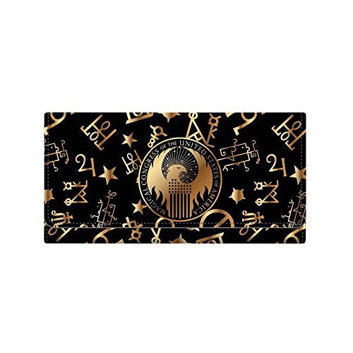 Phantastische Tierwesen MACUSA Geldbörse zu Fantastic Beasts schwarz
