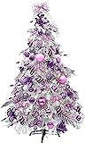 árbol de navidad arboles artificiales para decoracion Árbol de Navidad artificial Árbol de Navidad pre-decorado de primera calidad con adornos Luces LED y soporte de metal Árbol de Navidad ecológ