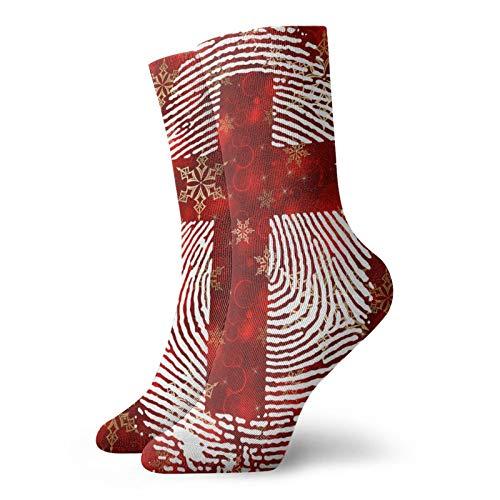 Zwinz Cross Thumbprint Comfort Running Socks For Men And Women (1 Pair)