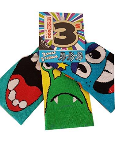 United Oddsocks - Beast - Jungs - Gr. 30 - 38 - 3 Socken = 3 Kombis