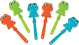 Passover Frog Hand Clappers (Pack of 6)