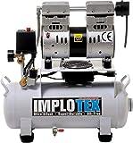 850W 14L Silent Flüsterkompressor Druckluftkompressor nur 55dB leise ölfrei flüster Kompressor Compressor IMPLOTEX