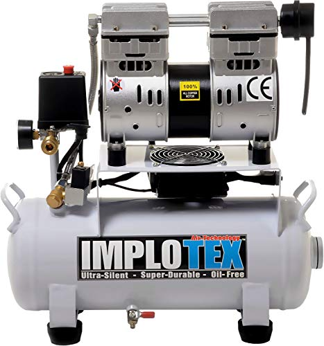 Implotex Silent Fluistercompressor