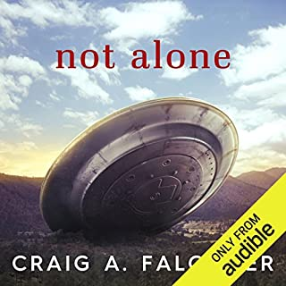 Not Alone audiobook cover art