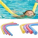Generic 6 * 150cm Floating Pool Noodle Swimming Kickboard Hollow Learn Foam Water Float Aid Woggle Swim Flexible Row Ring