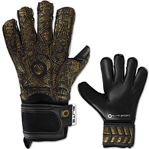 TW24 Elite Sport Torwarthandschuhe Aztlan mit Größenwahl Fussball Handschuhe Erwachsene Kinder Torwart Handschuh Trainingshandschuhe (5)