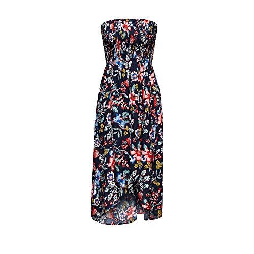ESPRIT Damen Jasmine Beach Acc Tube Dress Strandkleid, 415/INK, 40 (Herstellergröße: L)