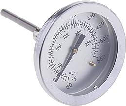 B Blesiya Termómetro De Monitoreo De Horno De Acero Inoxidable Termómetro De Horno De Barbacoa Medidor 50 ℃ -250 ℃