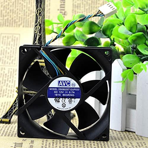 DS08025T12U 8025 8CM I3/I5 12V 0.77A 4-pin silent CPU fan
