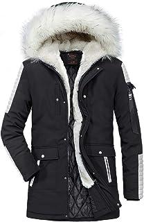 Giacca invernale da uomo calda Cappotto invernale Outdoor Plus Giacca Giovane Abiti da festa parka spessa Cappotto antiven...