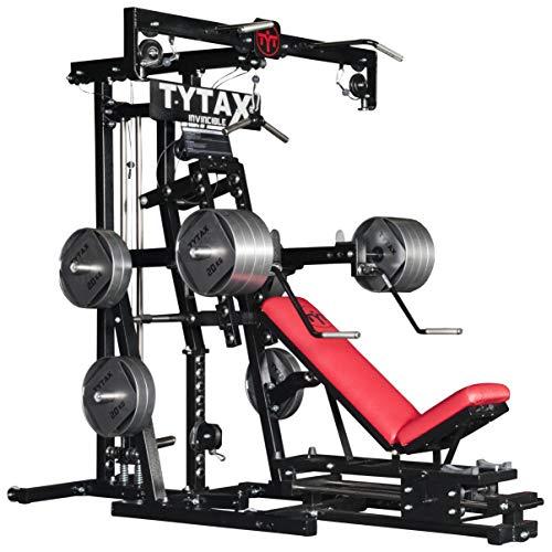 TYTAX® M2 Máquina para el Gimnasio de Casa | Culturismo Entrenamiento Ejercicio Aptitud