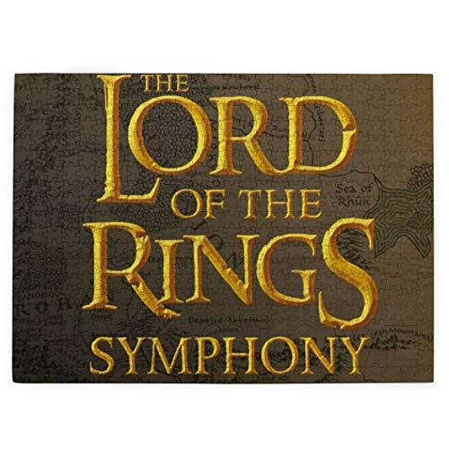 Custom made El Señor de los Anillos Rompecabezas para adultos: 520 piezas (520 piezas rompecabezas) (520 piezas rompecabezas) Libro de bolsillo