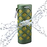 NINETEC Oxygen Wasserdichter Bluetooth NFC Speaker Lautsprecher Power Bank Grün