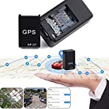Haodene Mini GPS Tracker, GF07 Traceur Véhicule en Temps Réel Localisateur GSM/GPRS Traceur Antivol pour Voiture Moto Vélo, Enfants, Personnes Âgées, Animaux Domestiques, Etc