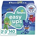 Pampers Easy Ups Training Pants Boys and Girls, Size 4,…