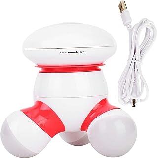Masajeador de mano, Mini masajeador de mano con vibración suave para masaje de cuello, hombro, pierna, masajeador, Mini masajeador personal silencioso de cuerpo completo electrónico