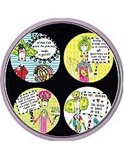 Dolly Mamas - Patrón de costura Cotizaciones de costura Pesos de tela Dolly Mama Designs. 4 unidades. Inspirado en la BBC Costura Bee. Diámetro: 50 mm.