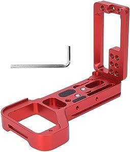 L-shape Quick Release Plate Bracket Alloy Telescopic Adjustment Vertic...