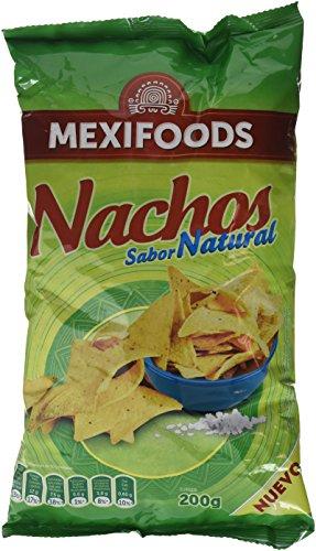 Mexifoods - Nachos (Sal), paquete de 6
