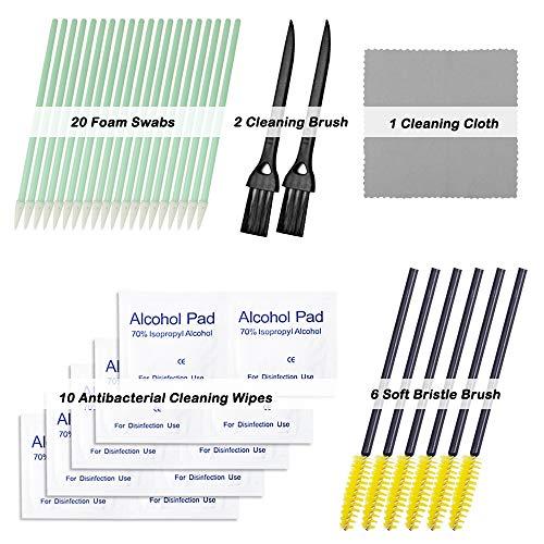 Kit di pulizia per kit di pulizia YuCool 39 pezzi compatibile con custodia per iPhone, Apple AirPods e Airpods