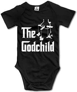 Infant Boys Girls The God Child Italian Mafia Gangster Baby Onesies Romper