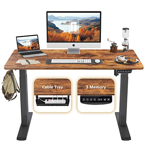 professional Adjustable height FEZIBO electric high table, 48 x 24 inch high table, high table …
