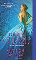 Scandal Wears Satin (The Dressmakers Series) by Loretta Chase(2012-06-26)